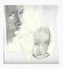 Original Sketch: Afternoon Fatigue Photographic Print