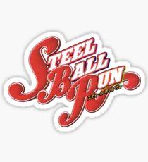 Steel Ball Run Jojo's Bizarre Adventure Sticker