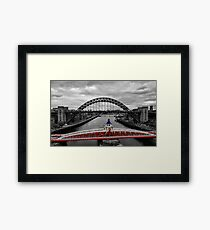 Red Swing Framed Print