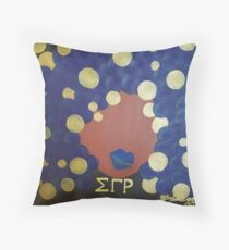 Sigma Gamma Rho Diva Throw Pillow