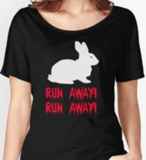 Monty Python - The Holy Grail - Killer Bunny Rabbit Women's Relaxed Fit T-Shirt