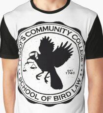 Bird Law Graphic T-Shirt