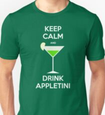 Keep Calm and Drink Appletini T-Shirt