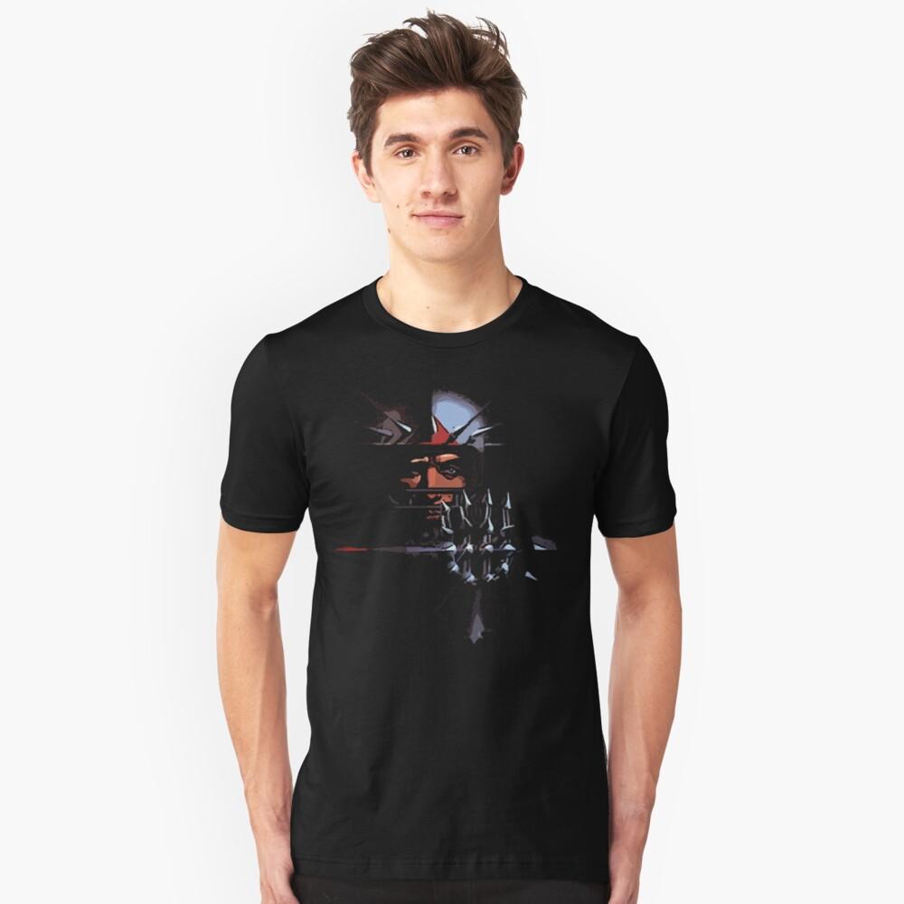 mr e Unisex T-Shirt Front
