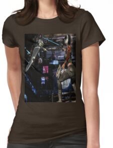 Future Shock 2 Womens Fitted T-Shirt