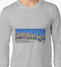 Halki Harbour Panorama T-Shirt