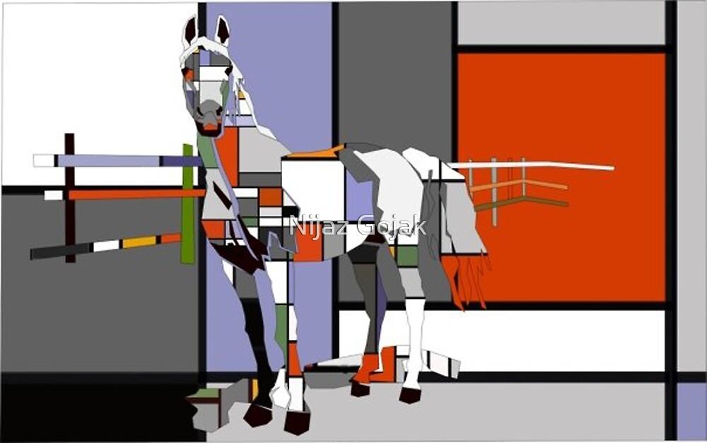 arabic horse by nijaz gojak