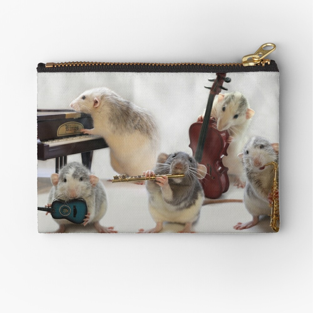 The Quintet Zipper Pouch