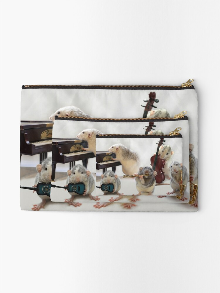 Alternate view of The Quintet Zipper Pouch