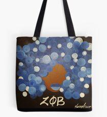 Zeta Phi Beta Diva Tote Bag