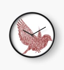 Scribble Bird Clock