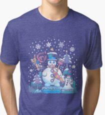 Freezy Winterland Tri-blend T-Shirt