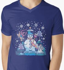 Freezy Winterland V-Neck T-Shirt