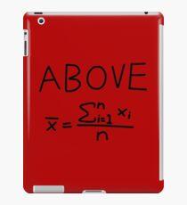 Above Average iPad Case/Skin