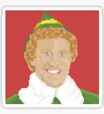 Elf Pixel Art Sticker Sticker