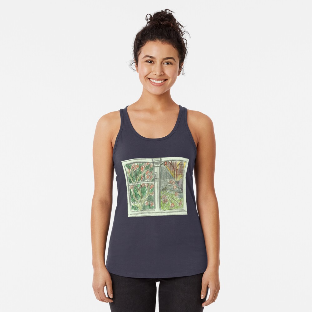 Through the Window Women's Tank Top Front
