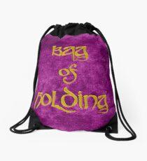 Bag of Holding - Pink Velvet Drawstring Bag
