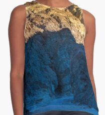 Golden Canyon Sunrise - Death Valley - California Contrast Tank