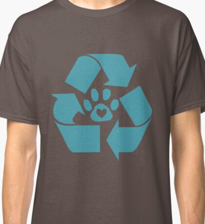 Reduce, Recycle, Adopt Classic T-Shirt