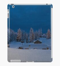Winter fairy tale at Grouse  iPad Case/Skin