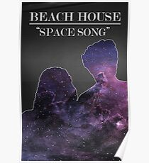 Beach House: Space Song Poster