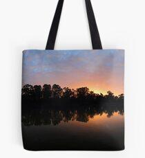 Murray River Sunrise.  Tote Bag