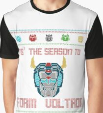 A Very Voltron Christmas Graphic T-Shirt