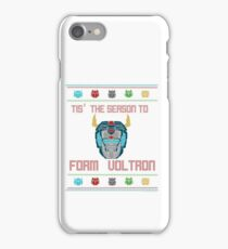 A Very Voltron Christmas iPhone Case/Skin