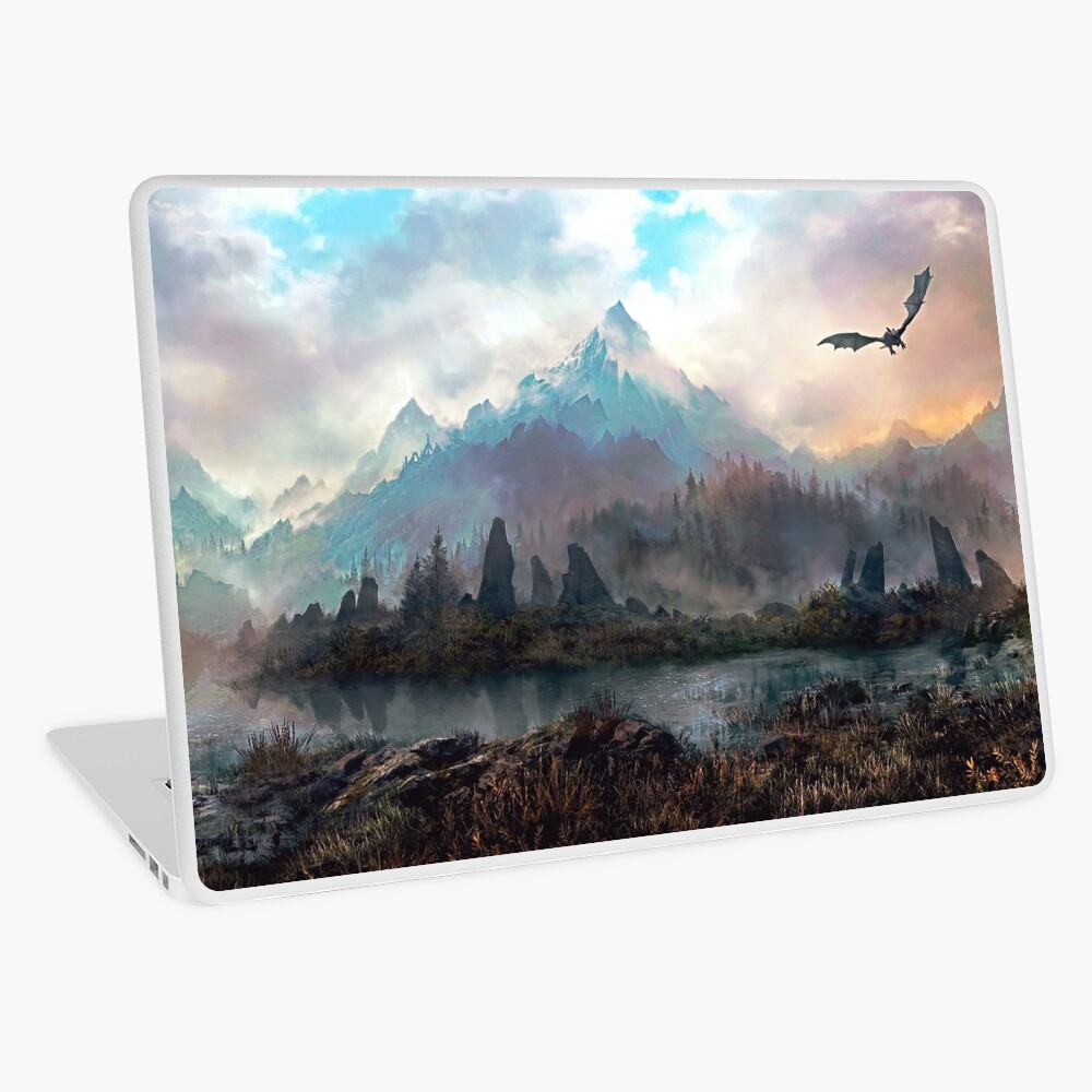 Dragon Mountain Laptop Skin