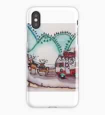 Caravan Christmas iPhone Case/Skin