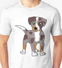 CLD red merle cartoon Unisex T-Shirt