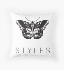 Butterfly Tattoo Throw Pillow