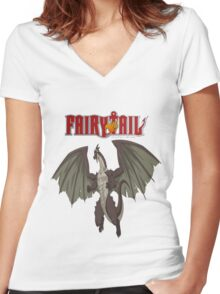 Igneel Women's Fitted V-Neck T-Shirt