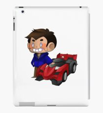 James and Toy Car  iPad Case/Skin