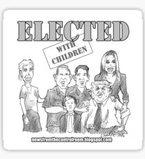 ELECTED  Sticker