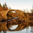 Packhorse Bridge Over The River Minnoch by derekbeattie