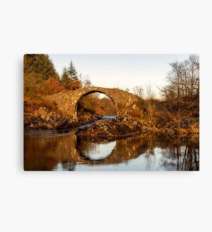 Packhorse Bridge Over The River Minnoch Canvas Print