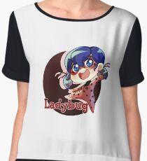 Ladybug Women's Chiffon Top