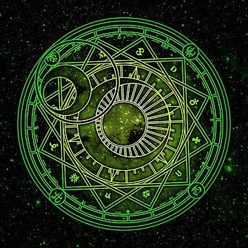 Yukito Tsukishiro Magic Circle by alphavirginis
