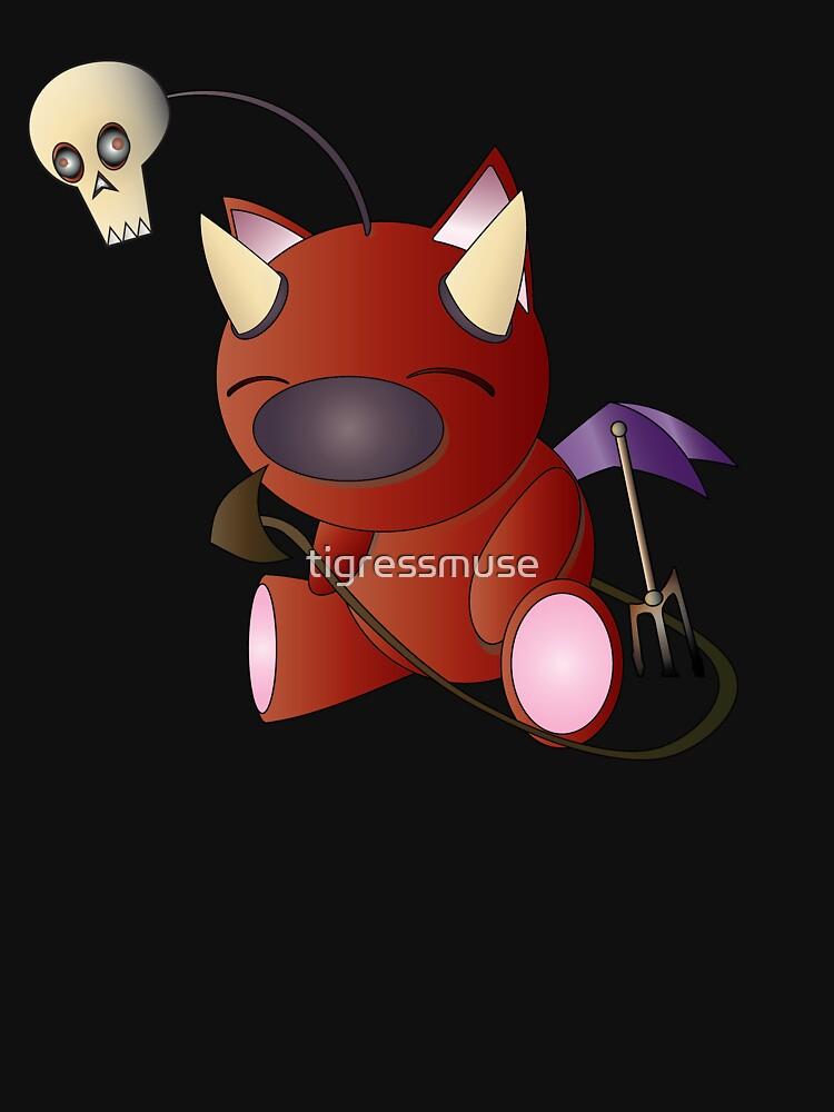 The Devil Moogle! by tigressmuse