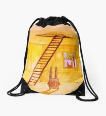 Magic Stair (illustration from the book) Drawstring Bag