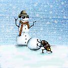 Snowman von AnnaShell