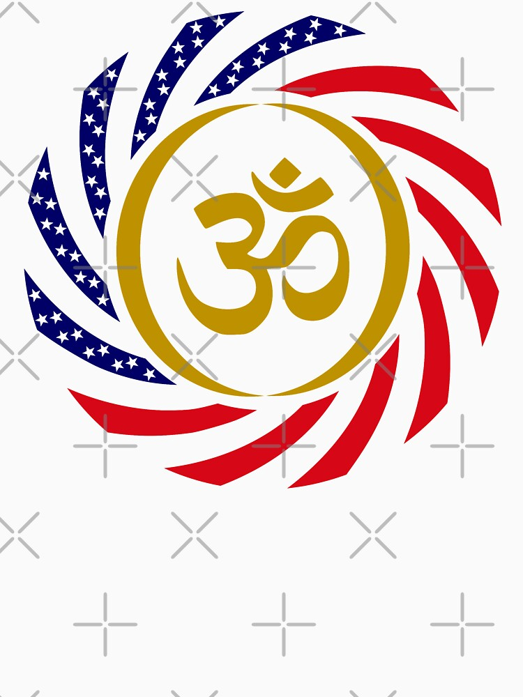 Hindu American Multinational Patriot Flag Series 1.0 by carbonfibreme