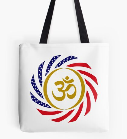 Hindu American Multinational Patriot Flag Series 1.0 Tote Bag