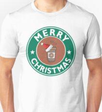 Festive Coffee Logo Unisex T-Shirt
