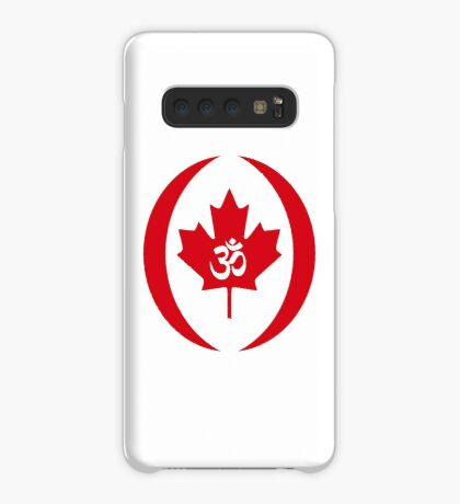 Hindu Canadian Multinational Patriot Flag Series Case/Skin for Samsung Galaxy