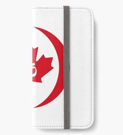 Hindu Canadian Multinational Patriot Flag Series iPhone Wallet