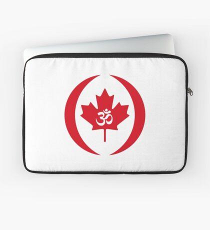 Hindu Canadian Multinational Patriot Flag Series Laptop Sleeve