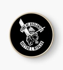 Sons Of Avalanche Clock
