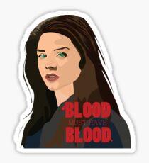 Octavia - The 100 Sticker